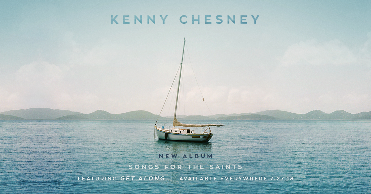 Official Kenny Chesney Website | Songs For The Saints Available Now!